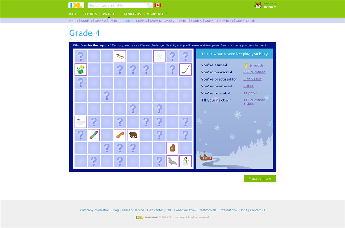 Review: IXL: Math and Language Arts Curriculum - A Net In Time Schooling